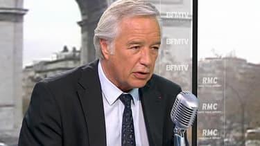 François Rebsamen, invité d'Apolline de Malherbe mercredi sur RMC et BFMTV de 8h35 à 9h.
