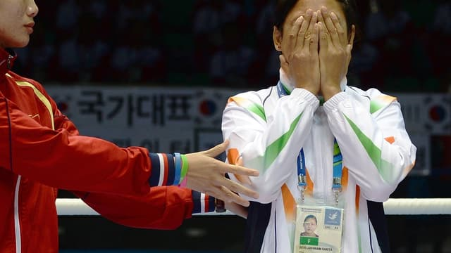 Sarita Devi, la boxeuse indienne qui a refusé sa médaille de bronze