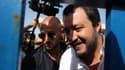 Matteao Salvini, à Pozzallo.