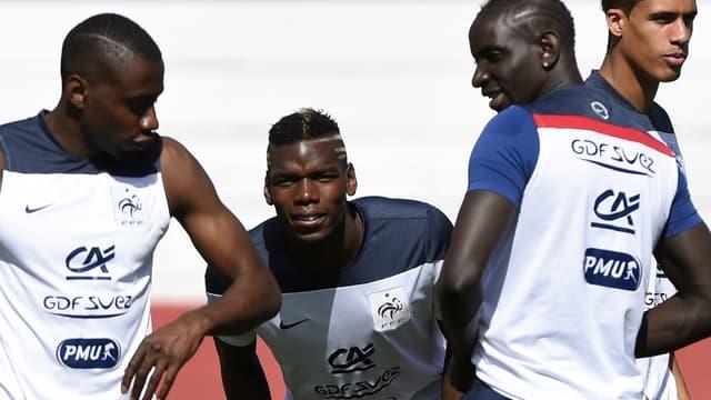 Blaise Matuidi, Paul Pogba, Mamadou Sakho et Raphaël Varane