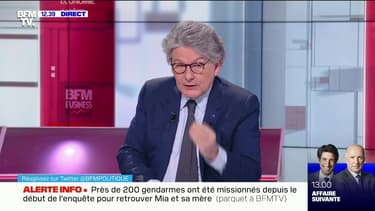 """Thierry Breton affirme que la vaccination """"sera le moyen de briser l'évolution de la pandémie et de retourner à une vie normale"""""""