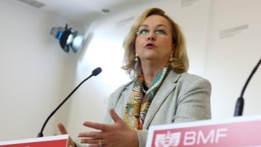 Maria Fekter, la ministre autrichienne des Finances, a assuré qu'elle ne lâcherait rien sur le secret bancaire