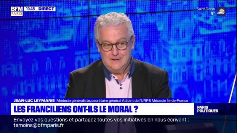 Covid-19: Jean-Luc Leymarie, médecin généraliste, avoue recevoir des personnes en détresse psychologique