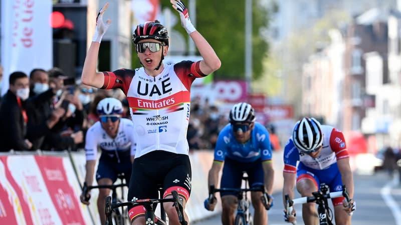 Liège-Bastogne-Liège: Pogacar devance Alaphilippe d'un rien au sprint, Gaudu 3e