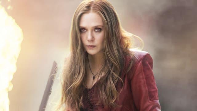 Elizabeth Olsen en Scarlett Witch dans les films Marvel