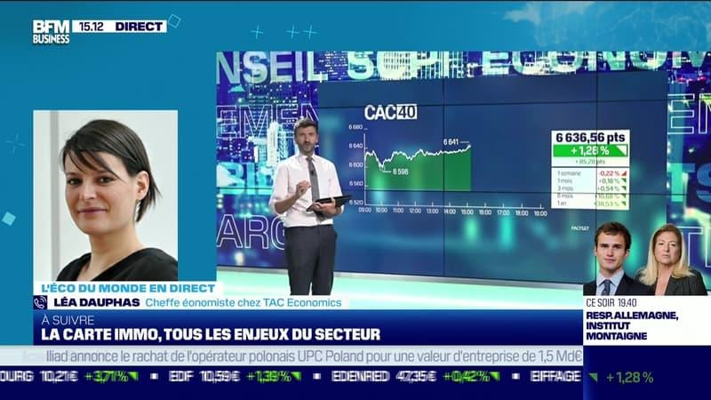 Léa Dauphas (TAC Economics) : La FED pourrait attendre le vote des plans social et d'infrastructure pour préciser son Tapering - 22/09