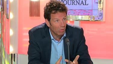 Geoffroy Roux de Bézieux était l'invité de BFM Business, mardi 16 juillet.