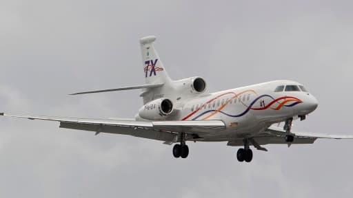 Les ventes du Falcon 7X, avion d'affaires haut de gamme, ont tiré le chiffre d'affaires de Dassault vers le haut.