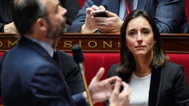 Brune Poirson à l'Assemblée nationale.