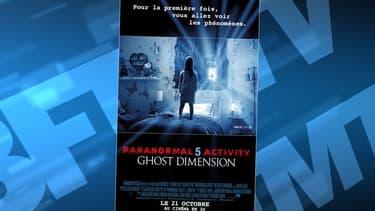 Le film Paranormal Activity 5 a généré des incidents dans un cinéma de Perpignan.