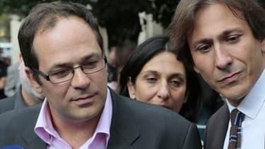 """Emmanuel Maurel et Jérôme Guedj, tous deux socialistes, devraient venir """"saluer"""" les manifestants contre l'accord du 11 janvier."""