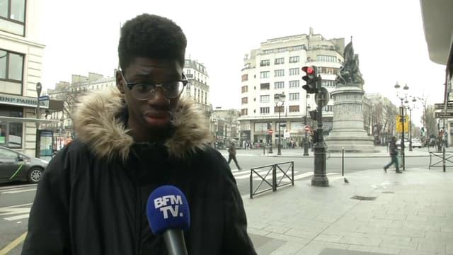 Emmanuel Toula raconte comment il a pu sauver la fillette de la voiture en flammes.