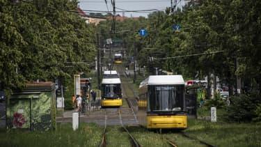 Le tram de Berlin, en juin dernier