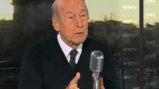 Valéry Giscard d'Estaing, ancien Président de la République, auteur de « La Victoire de la Grande Armée » (Ed. Plon), invité de Bourdin Direct ce mardi