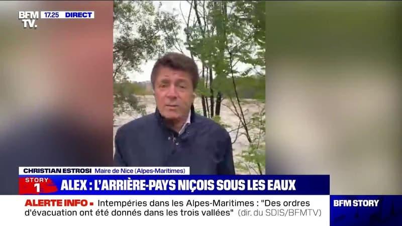 """Christian Estrosi: """"L'aéroport de Nice Côte d'Azur est fermé"""""""