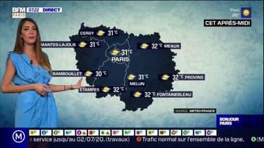 Météo en Île-de-France: un grand soleil pour la journée la plus chaude de la semaine