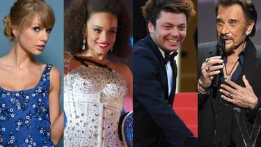 Taylor Swift, Alicia Ayliès, Kev Adams et Johnny Hallyday ont fait l'actu cette semaine.