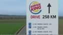 McDonald's s'était moqué, dans une première publicité, du faible nombre de restaurants drive de Burger King.