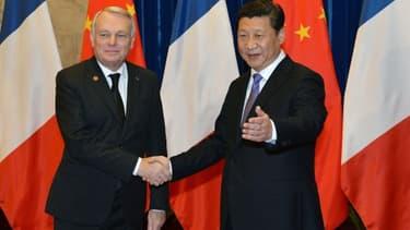 Jean-Marc Ayrault est actuellement en visite officielle en Chine.