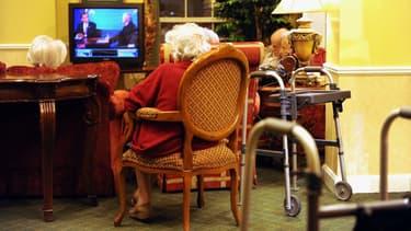 Des résidents d'une maison de retraite aux Etats-Unis le 15 octobre 2008. (Photo d'illustration).