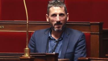 Le député Matthieu Orphelin à l'Assemblée nationale le 27 juillet 2017.