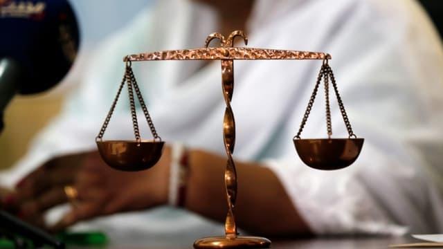 Le symbole de la justice (illustration) - Ashraf Shazly / AFP