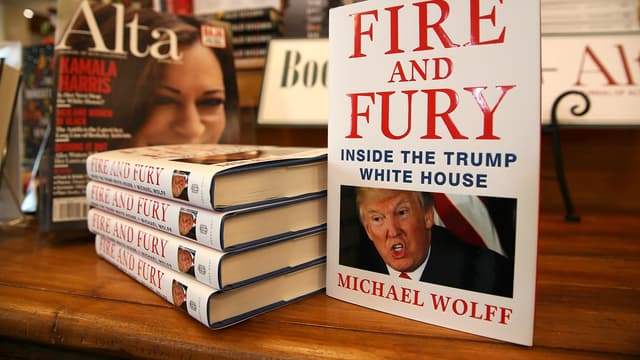 """Le livre """"Fire and Fury"""""""