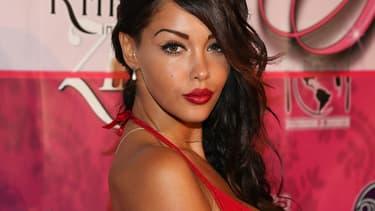 Nabilla en août 2013 à Beverly Hills