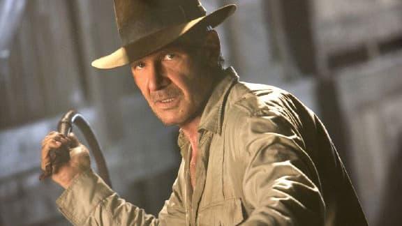 Harrison Ford dans le dernier Indiana Jones, sorti en 2008.