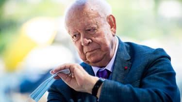 L'ancien maire de Marseille Jean-Claude Gaudin (LR).