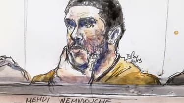 Mehdi Nemmouche encourt la réclusion criminelle à perpétuité.