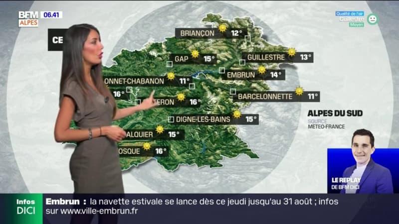 Météo: un jeudi très ensoleillé, jusqu'à 29°C à Manosque et 27°C à Gap