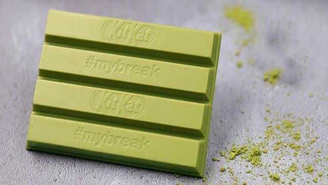 Le KitKat au thé vert arrive en Europe