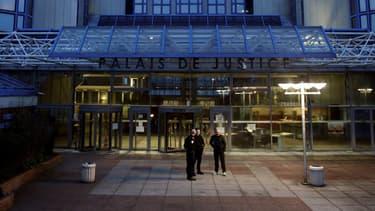 Le tribunal de grande instance de Bobigny, mars 2017 (PHOTO D'ILLUSTRATION)