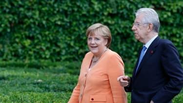 Angela Merkel reçoit Marion Monti ce mercredi, à Berlin.