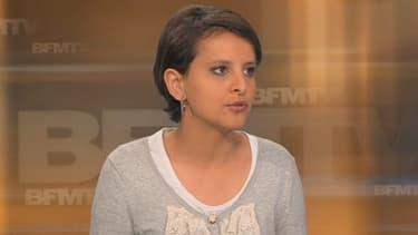 La porte-parole du gouvernement, Najat Vallaud-Belkacem, invitée de Le Soir BFM, le 6 mai