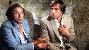 """Pierre Richard et Gérard Depardieu dans """"La Chèvre"""""""