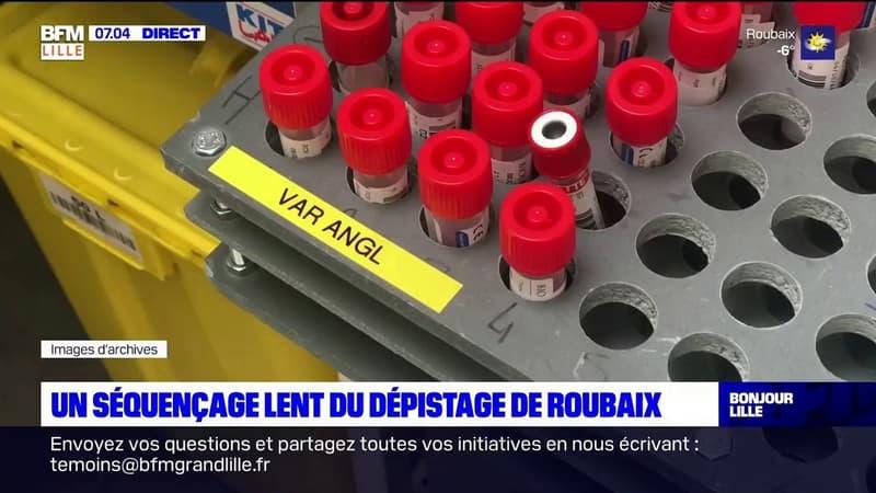 Dépistage à Roubaix: les résultats du séquençage toujours attendus
