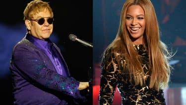 """Elton John et Beyoncé pourraient travailler ensemble sur une chanson originale pour """"Le Roi Lion"""""""