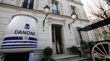 Danone a annoncé vouloir supprimer 900 postes en Europe d'ici 2014.