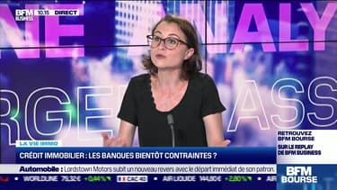 Marie Coeurderoy: Crédit immobilier, de nouvelles contraintes pour les banques ? - 15/06