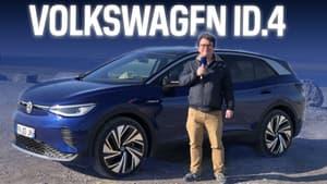 Essai Volkswagen ID.4, l'électrique version SUV