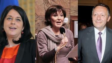 Sylvia Pinel, Annick Girardin et Thierry Braillard sont les nouvelles figures du PRG au gouvernement.