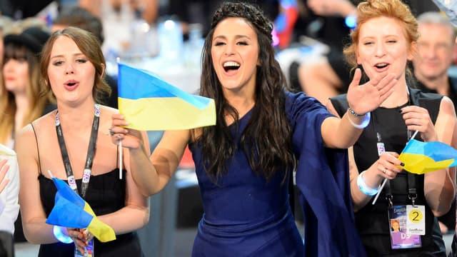 Jamala a remporté l'Eurovision pour l'Ukraine.