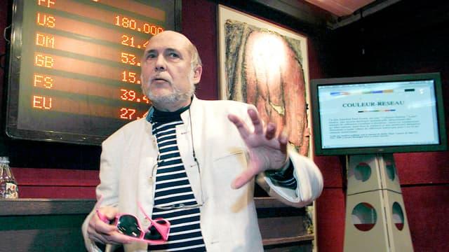 Fred Forest est un pionnier de l'art numérique.