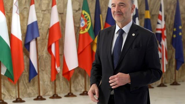 Le commissaire européen aux Affaires économiques, Pierre Moscovici.