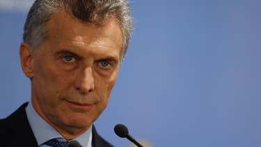 Mauricio Macri peine à sortir l'Argentine de la récession.