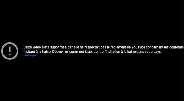 """""""Be not afraid"""", l'une des vidéos les plus populaires de Soph, a été supprimée de YouTube."""