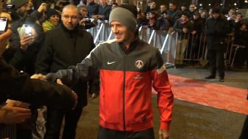 Davide Beckham pourrait être titulaire en 8e de finale de la Coupe de France face à l'OM.