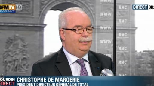 Christophe de Margerie était l'invité de Jean-Jacques Bourdin ce vendredi 15 février